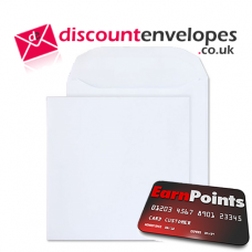 Square Wallet Peel and Seal Ultra White Wove 220×220mm 120gsm