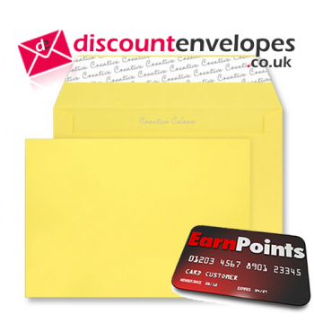 Wallet Peel and Seal Banana Yellow C4 229×324mm 120gsm