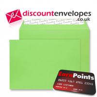 Wallet Peel and Seal Lime Green C4 229×324mm 120gsm