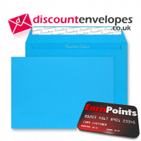 Wallet Peel and Seal Caribbean Blue C4 229×324mm 120gsm