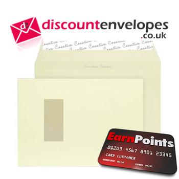 Wallet Peel and Seal Window Lemon Yellow C4 229×324mm 120gsm