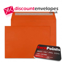 Wallet Peel and Seal Marmalade Orange C4 229×324mm 120gsm