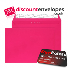 Pocket Peel and Seal Shocking Pink C4 229×324mm 120gsm