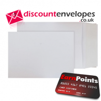 Card Pocket Peel and Seal Ultra White Card C4 324×229mm 210gsm 280µm