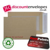 Board Back Pocket Peel and Seal Manilla C5+ 240×165mm 120gsm