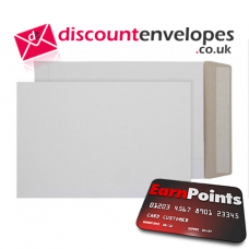 All Board Pocket Peel and Seal White Board C5+ 240×165mm 350gsm 500µm