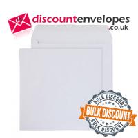 Square Wallet Gummed White 240×240mm 100gsm