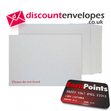Board Back Pocket Peel and Seal White 241×178mm 120gsm
