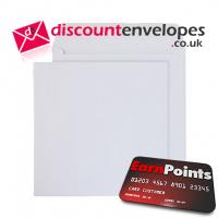 Square Wallet Gummed White 270×270mm 100gsm