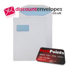 Mailer Gummed High Window White 310×238mm 100gsm