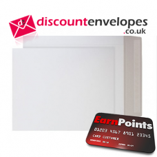 All Board Pocket Peel and Seal White Board 330×273mm 350gsm 500µm