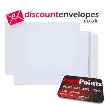 Pocket Peel and Seal Bright White B4 352×250mm 120gsm