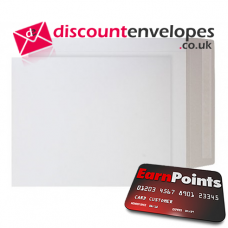 All Board Pocket Peel and Seal White Board 508×381mm 350gsm 500µm
