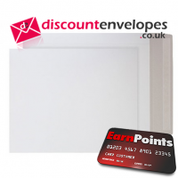 All Board Pocket Peel and Seal White Board 525×460mm 350gsm 500µm